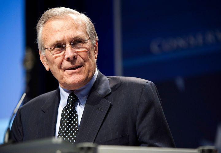 Two-time Secretary of Defense Donald Rumsfeld has died.