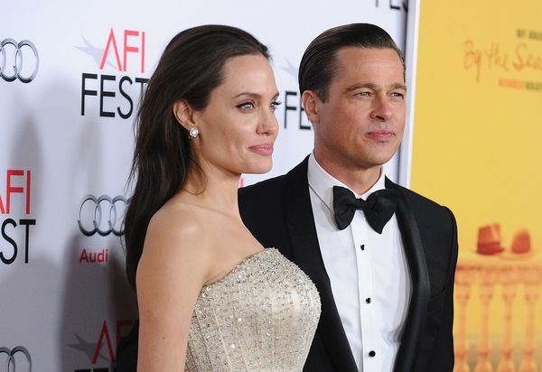 """Brad Pitt and Angelina Jolie, Hollywood's former golden couple, <a href=""""https://www.huffpost.com/entry/angelina-jolie-allege"""
