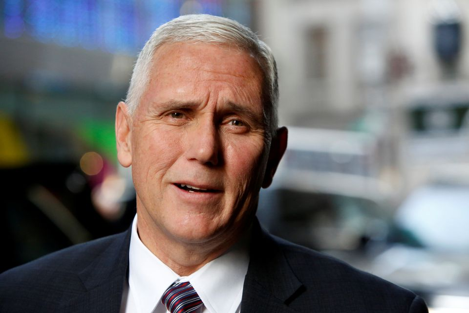 "During his time as governor of Indiana, Pence <a href=""http://www.huffingtonpost.com/2015/03/26/indiana-governor-mike-pe"