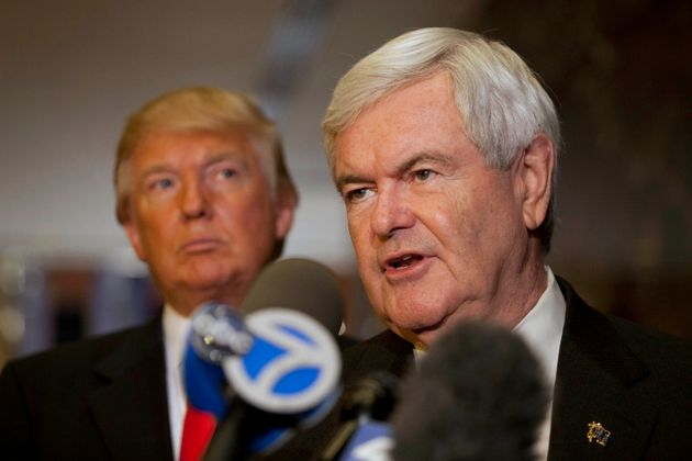 Newt Gingrich Says Trump Has Given Up On 'Draining The