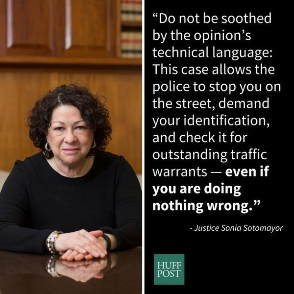 "In June, the Supreme Court <a href=""http://www.huffingtonpost.com/entry/sonia-sotomayor-police_us_57680301e4b0fbbc8beaf4ae"">r"