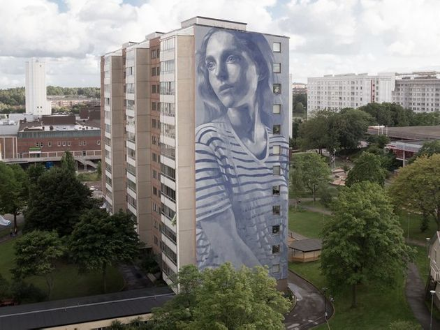These Abandoned Buildings Are Adorned With Stunning Portraits Of