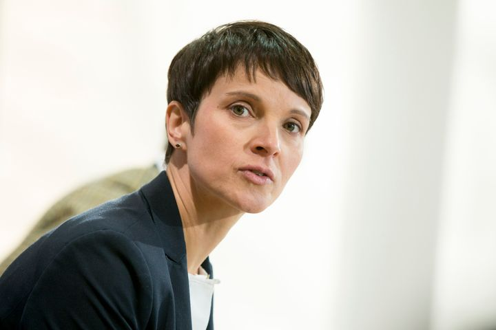 Co-head of the Alternative fuer Deutschland (AfD, Alternative for Germany) political party Frauke Petry in Berlin on Dec. 5.