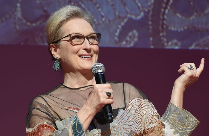 """I've grown up with gay people and been in love with gay people,"" Meryl Streep has said."