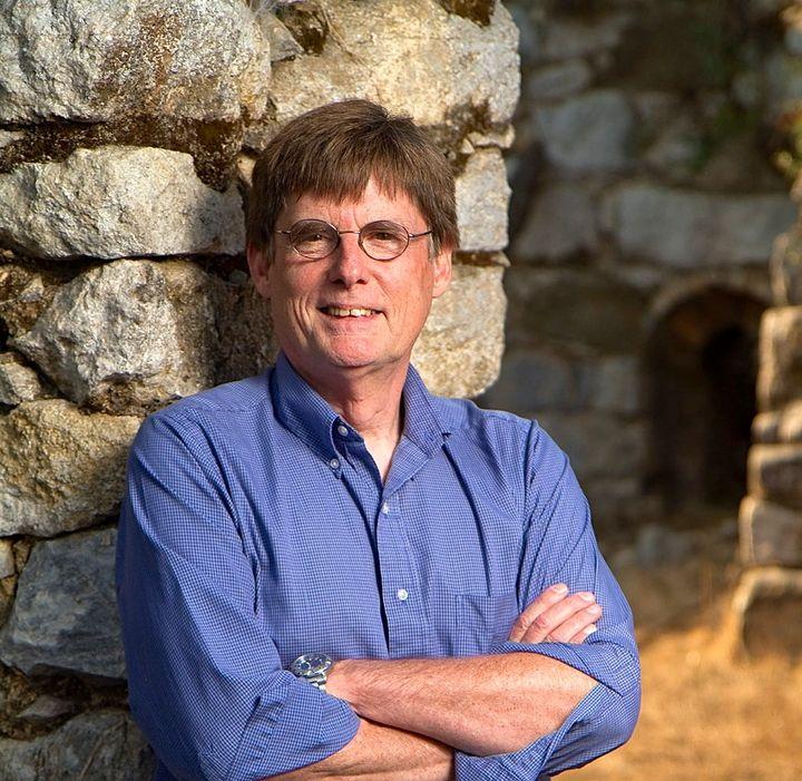 <em>Smith Renaissance Society founder, Bill Dickinson</em>
