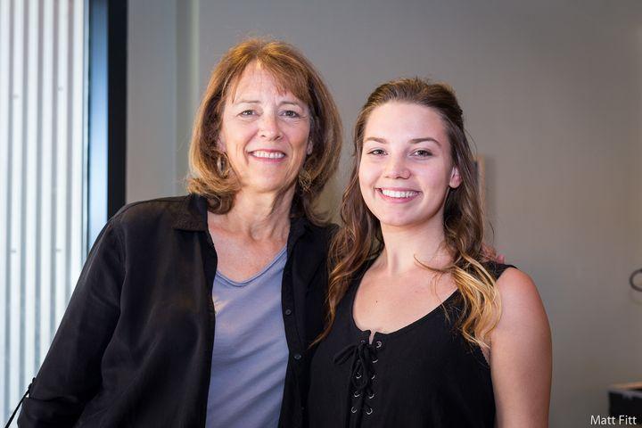 <em>Smith Renaissance Society volunteer mentor, Janice Lasnier &amp; Society student, Lexie Tapke</em>