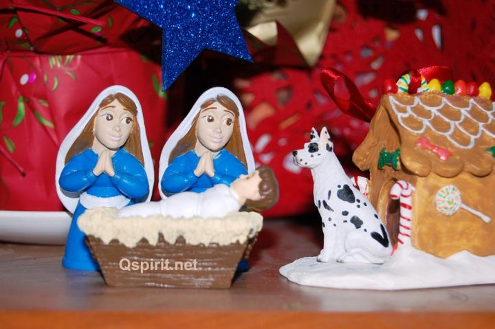 Retired lesbian pastorKittredge Cherry is queering the nativity.