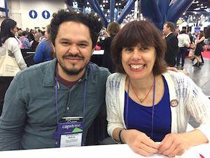 Raúl Gonzalez III and Cathy Camper