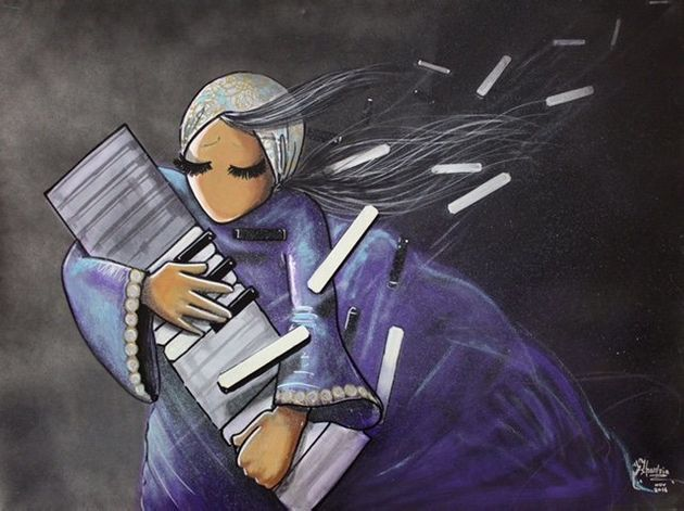 An Afghan Street Artist Boldly Brings Women's Stories To