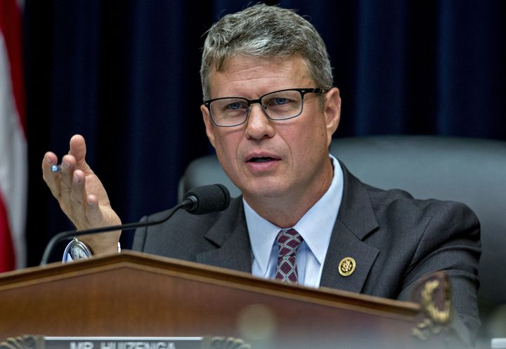 Rep. Bill Huizenga says people should consider putting off a trip to the E.R.to save money.