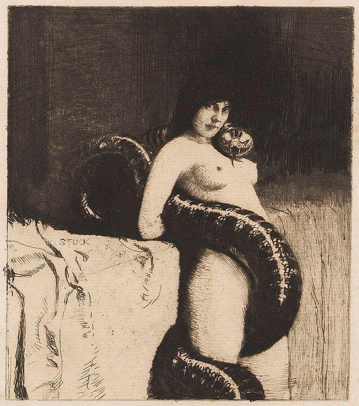 <p>1889 - Artist: Franz von Stuck </p>