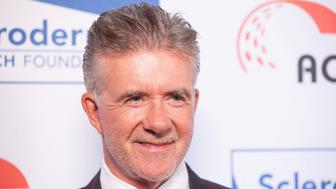 BEVERLY HILLS, CA - JUNE 05:  Alan Thicke arrives for the 'Cool Comedy - Hot Cuisine' benefit for the Scleroderma Research Foundation at Regent Beverly Wilshire Hotel on June 5, 2015 in Beverly Hills, California.  (Photo by Gabriel Olsen/FilmMagic)