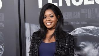 NEW YORK, NY - DECEMBER 19:  Gabby Douglas attends the 'Fences' New York Screening at Frederick P. Rose Hall, Jazz at Lincoln Center on December 19, 2016 in New York City.  (Photo by Mike Coppola/Getty Images)