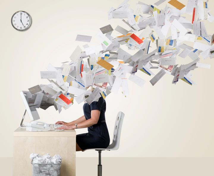 "Fewer people reported feeling overwhelmed by ""information overload"" this year than did in 2006, according to surveys from the Pew Research Center."