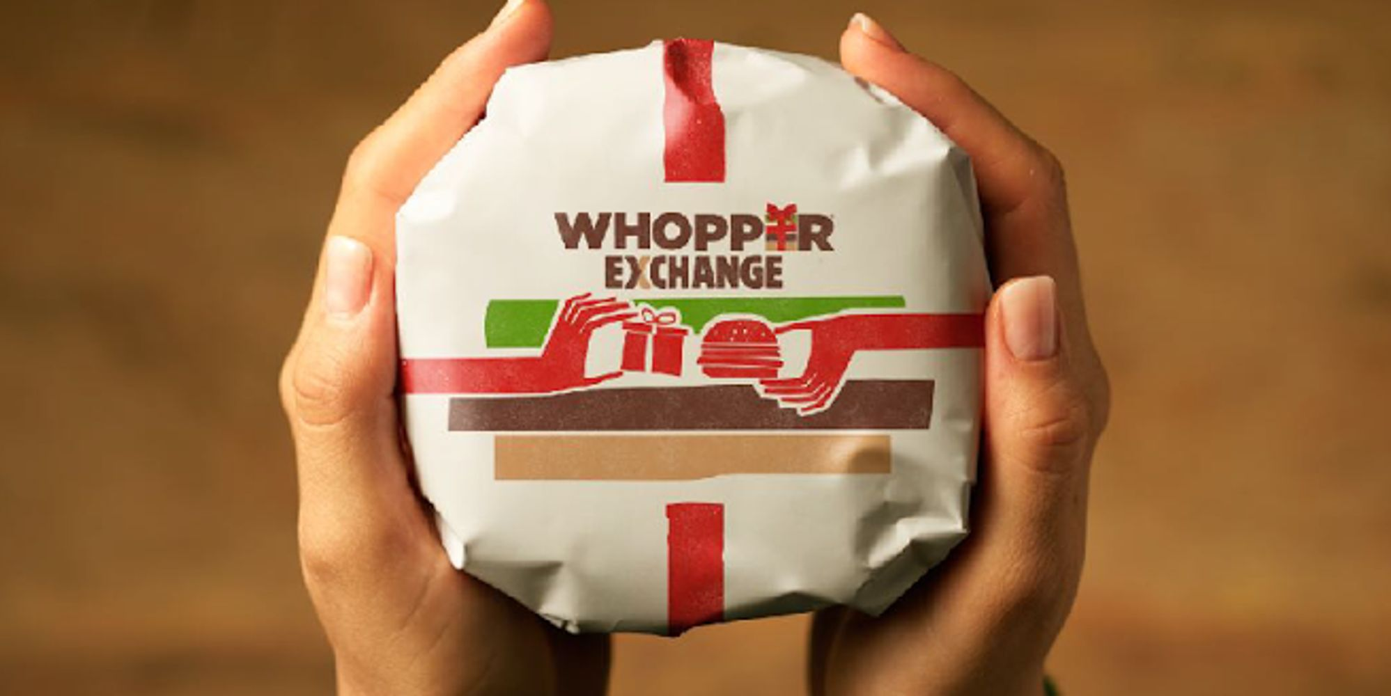 Бургер кинг воппер в подарок