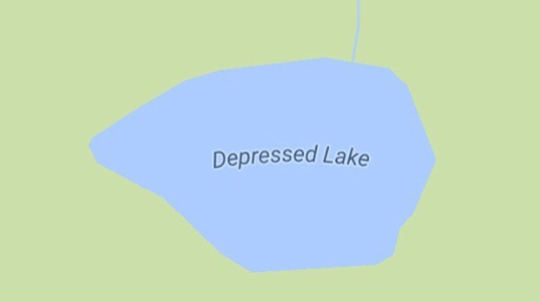 Artist Mines Google Maps For The Literal Saddest Places On