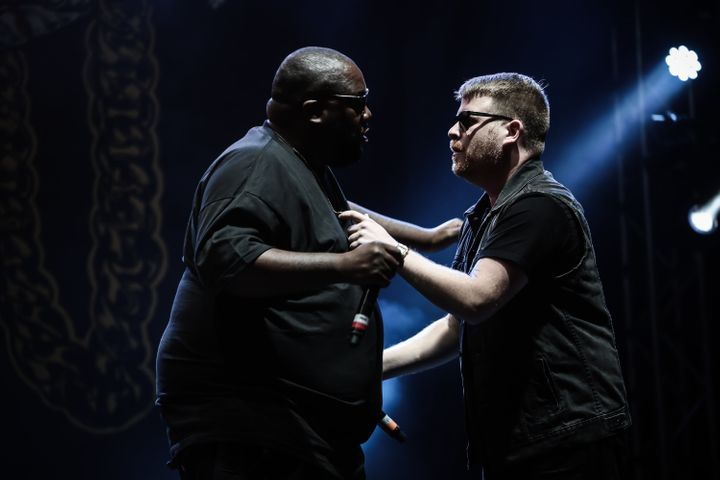 Run the Jewels at the2015 Reading Festival.