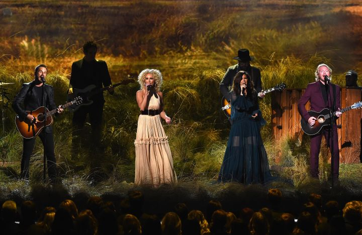 Little Big Town perform at the CMA Awards in November 2016.
