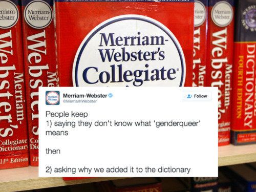 One of the most unlikely heroes of 2016 came in the form of the Merriam-Webster dictionary -- specifically, the publishing co