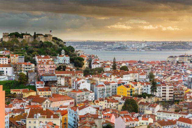 Lisbon sits near the Tagus
