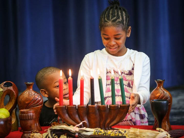 The Markham African Caribbean Canadian Association's Kwanzaa celebration took place Saturday afternoon at the Milliken Mills