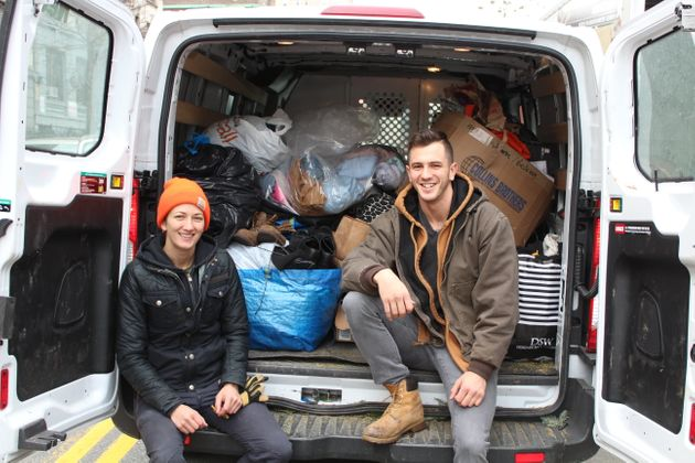 These NYC Siblings Will Get Rid Of Your Christmas Tree