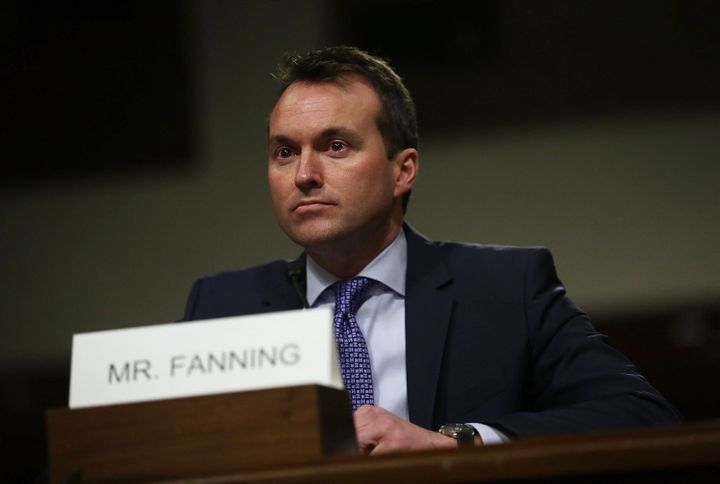 U.S. Secretary of the Army Eric Fanning testifies during his confirmation hearing.