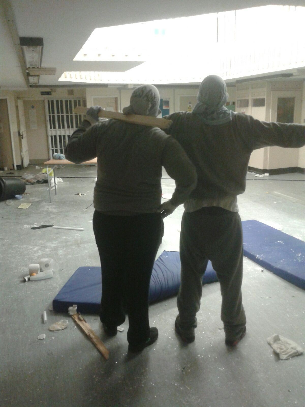 A wing at HMP Swaleside in Kent was taken over by rioting prisoners in