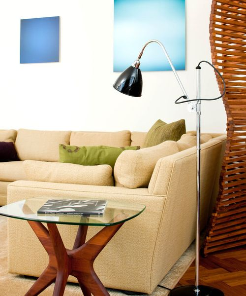 "<a rel=""nofollow"" href=""http://www.houzz.com/photos/101962/A-mix-of-old-and-new-to-create-a-comfortable-living-area-midcentur"
