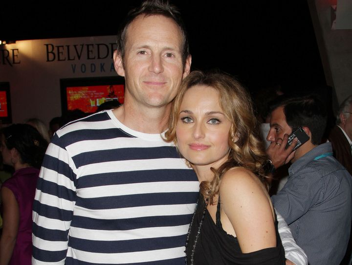 Giada and her ex Todd Thompson.