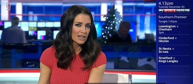Kirsty Gallacher Denies Being Drunk On Sky Sports After Collapsing During Ad