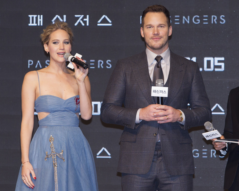 Jennifer Lawrence And Chris Pratt Interview Cut Short After 'Awkward' Sex