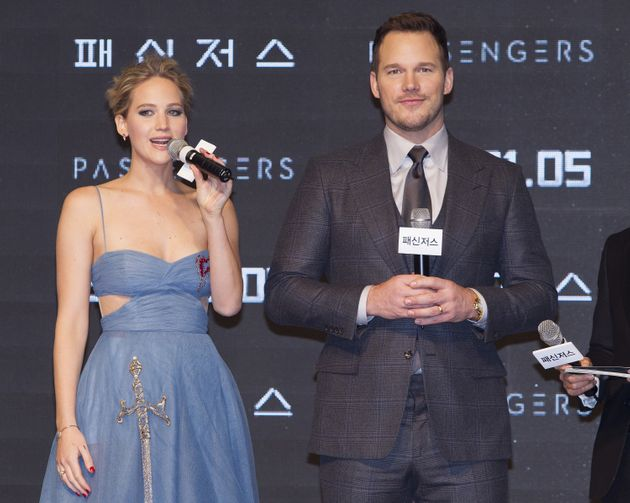 Jennifer Lawrence and Chris
