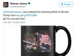 The Bizarre World Of Mug Trading Lurking Within Donald Trump's Twitter Feed