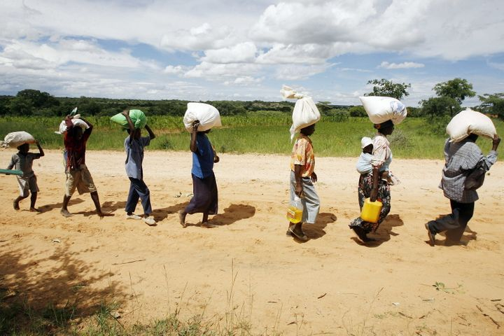With Zimbabwe in the grip of drought, many families rely on food aid to get by. But some NGOs and rights activists say women