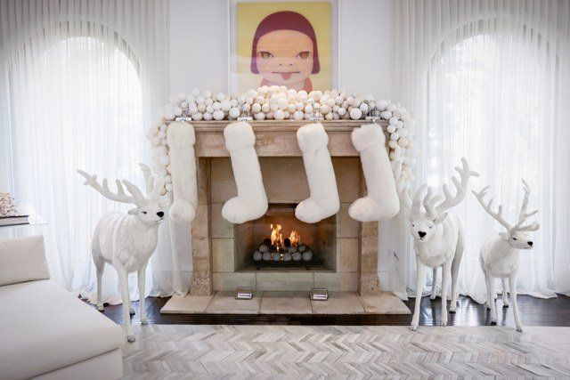 Kris jenner christmas house decorations
