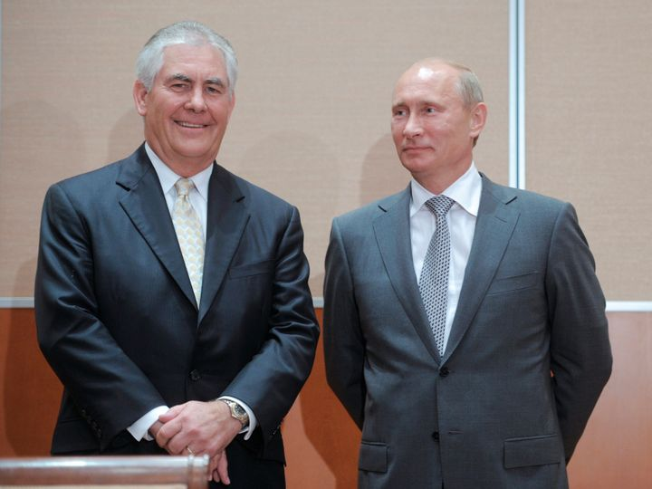 Tillerson has been widely criticized by leaders in both parties for his close ties to Russian President Vladimir Putin.