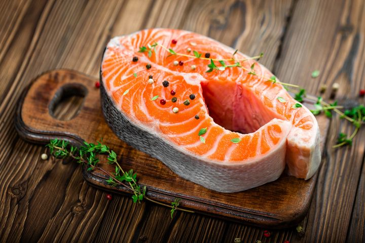 Who knew? Salmon may help you chill out.