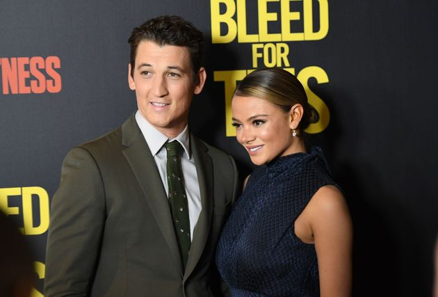 Miles Teller and Keleigh