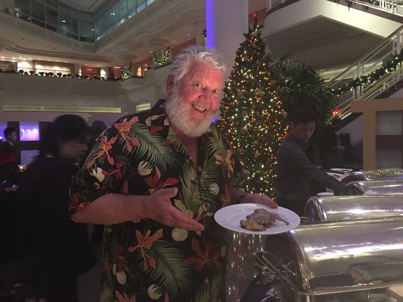 Laurence Malley had some tough choices to make at the Opera Buffet at the Pan Pacific's Oceans 999, which in December  takes