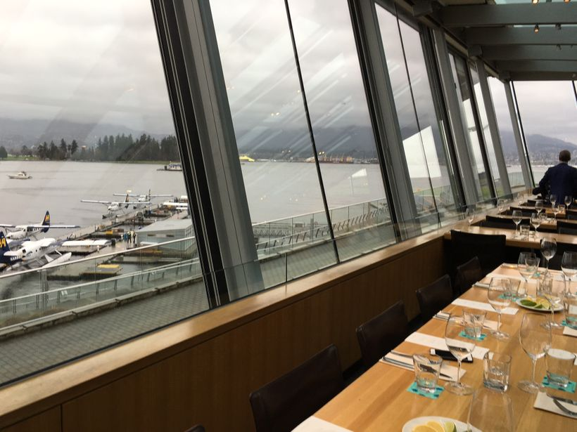 The Cactus Club Coal Harbour offers breathtaking views, not matter what time of year.