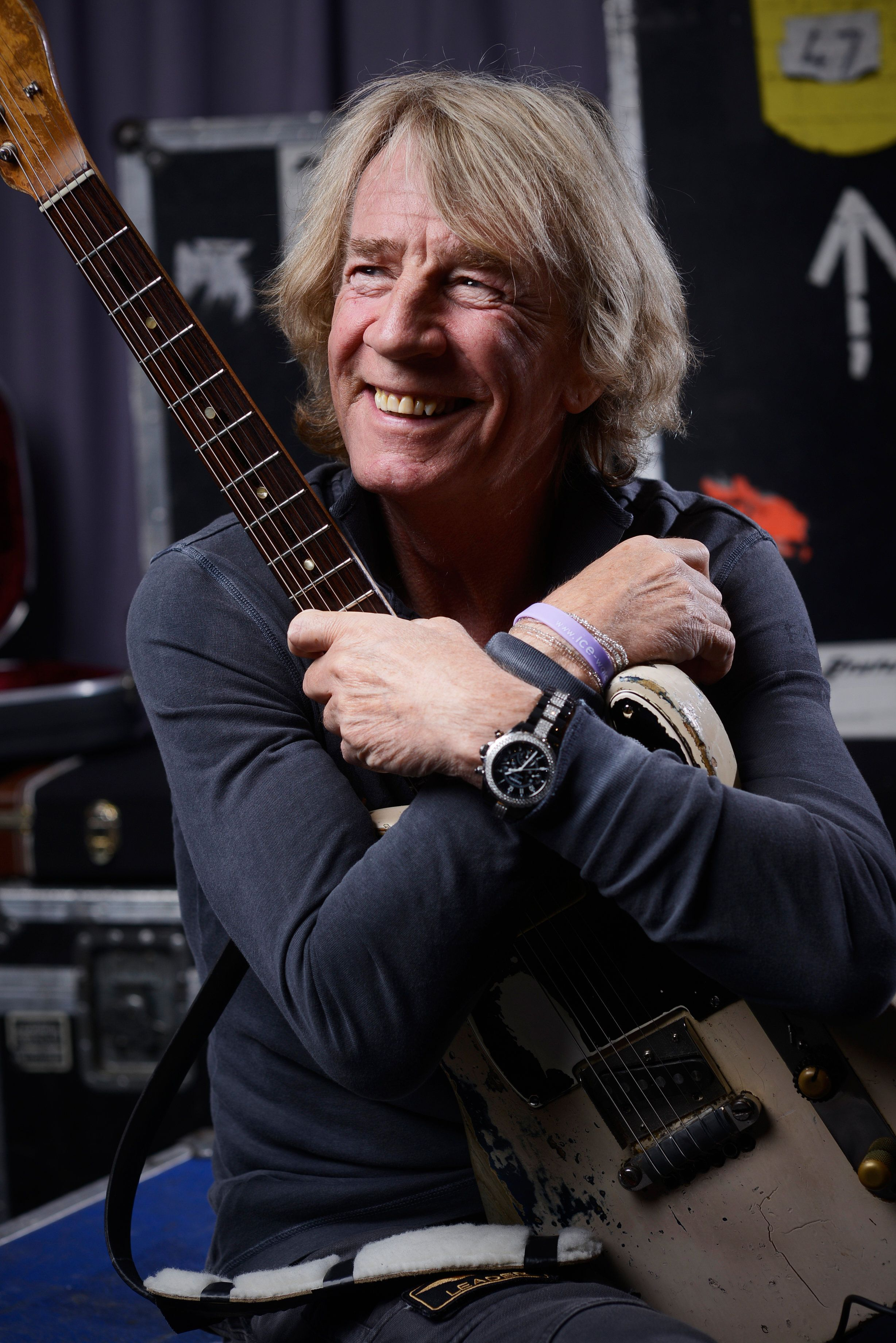 Rick had been performing with Status Quo for nearly half a