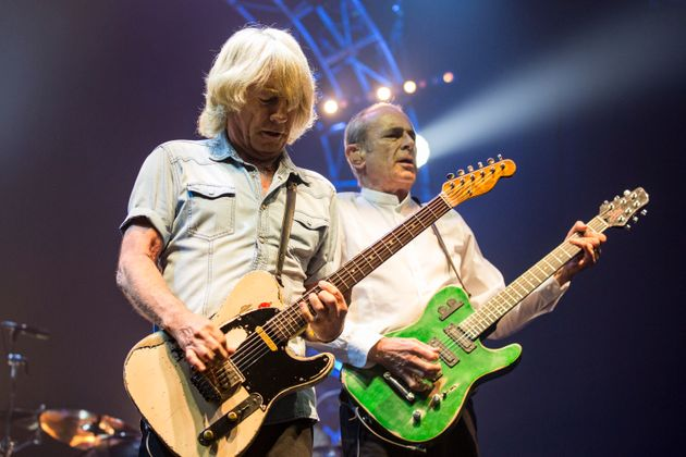 Rick Parfitt had been riffing with Francis Rossi for nearly half a