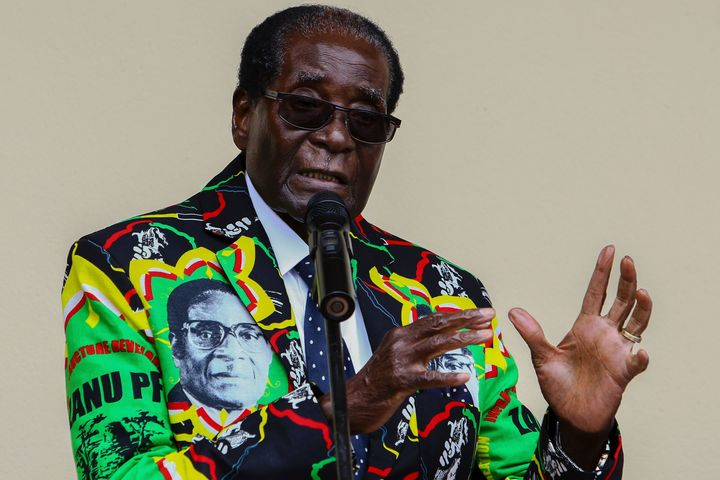 Robert Mugabe, president of Zimbabwe until November 2017, had ruled for nearly four decades.