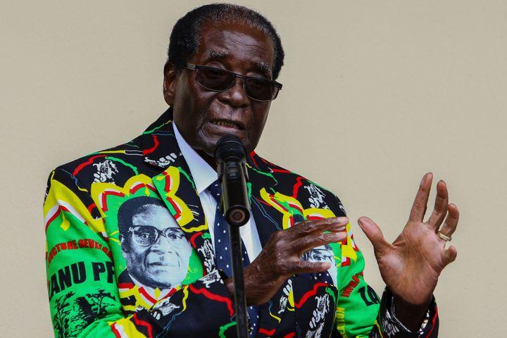 Robert Mugabe,presidentof Zimbabwe until November 2017, had ruled for nearly four decades.