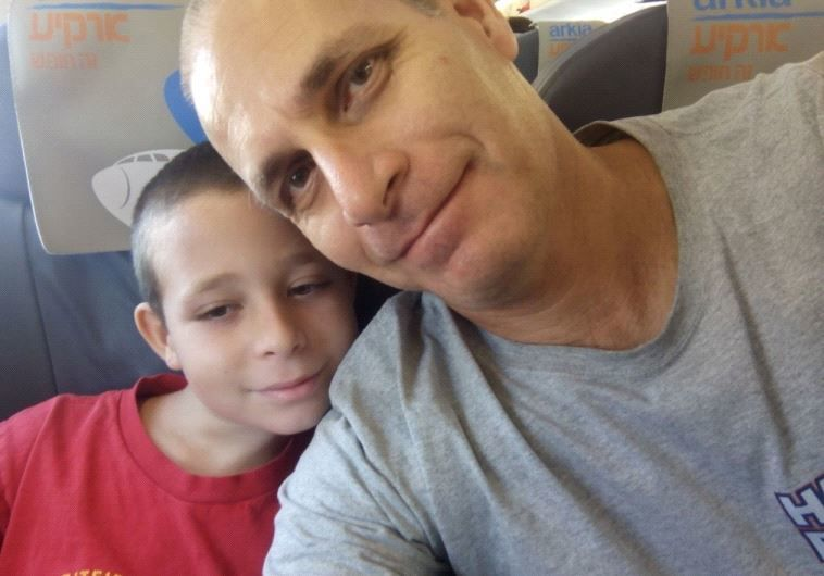 Dr. Omri Nir with his son, Illai
