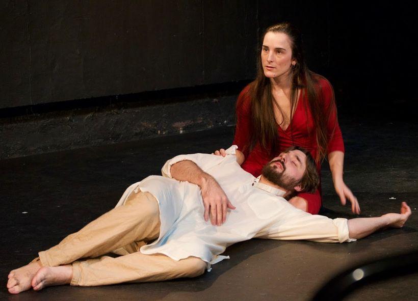 Mary Magdalene (Paloma Muñoz) mulls over her relationship with Jesus (Steffen Alexander Whorton).