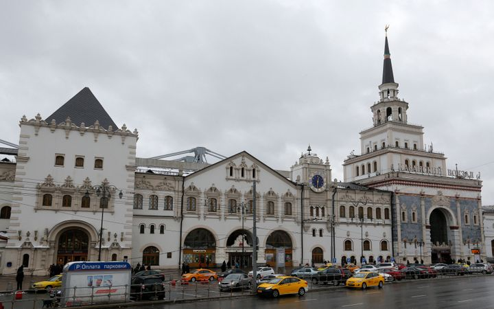 The Kazansky railway terminal was one of the three stations to be evacuated.