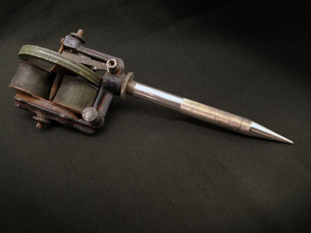 Weird that thomas edison kind of invented the tattoo gun for How to make tattoo gun with pen