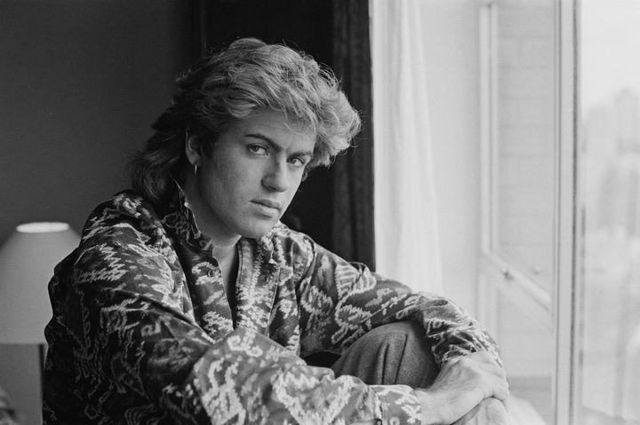 George Michael in January 1985, Sydney, Australia.